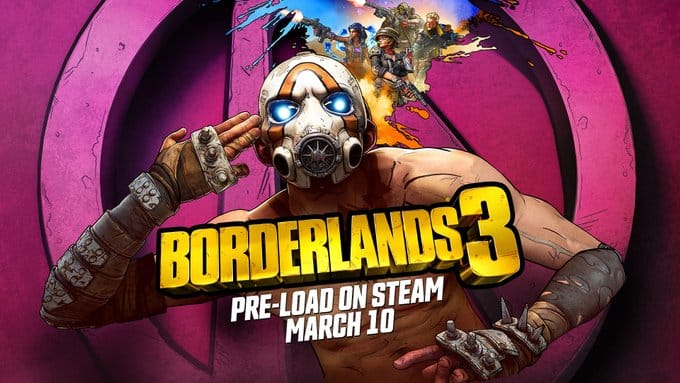 Borderlands 3 Steam Gearbox Software 2K Games PC Epic Games Store