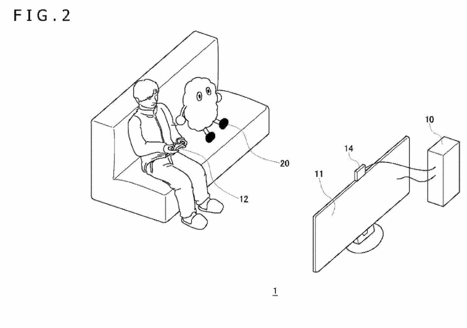 Sony Robotic Gaming Companion Patent