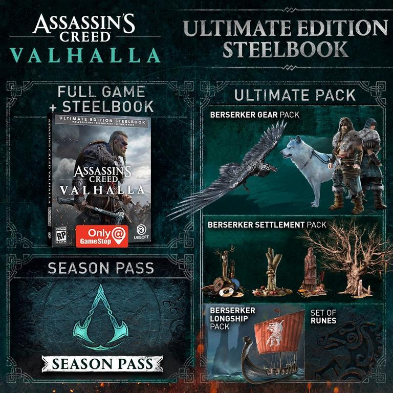 Assassins Creed Valhalla - All The Special and Collector's Editions Available to Pre-Order