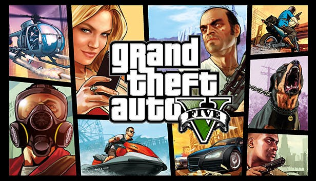 Free Games GTA V Grand Theft Auto V PS5 PS4 Free