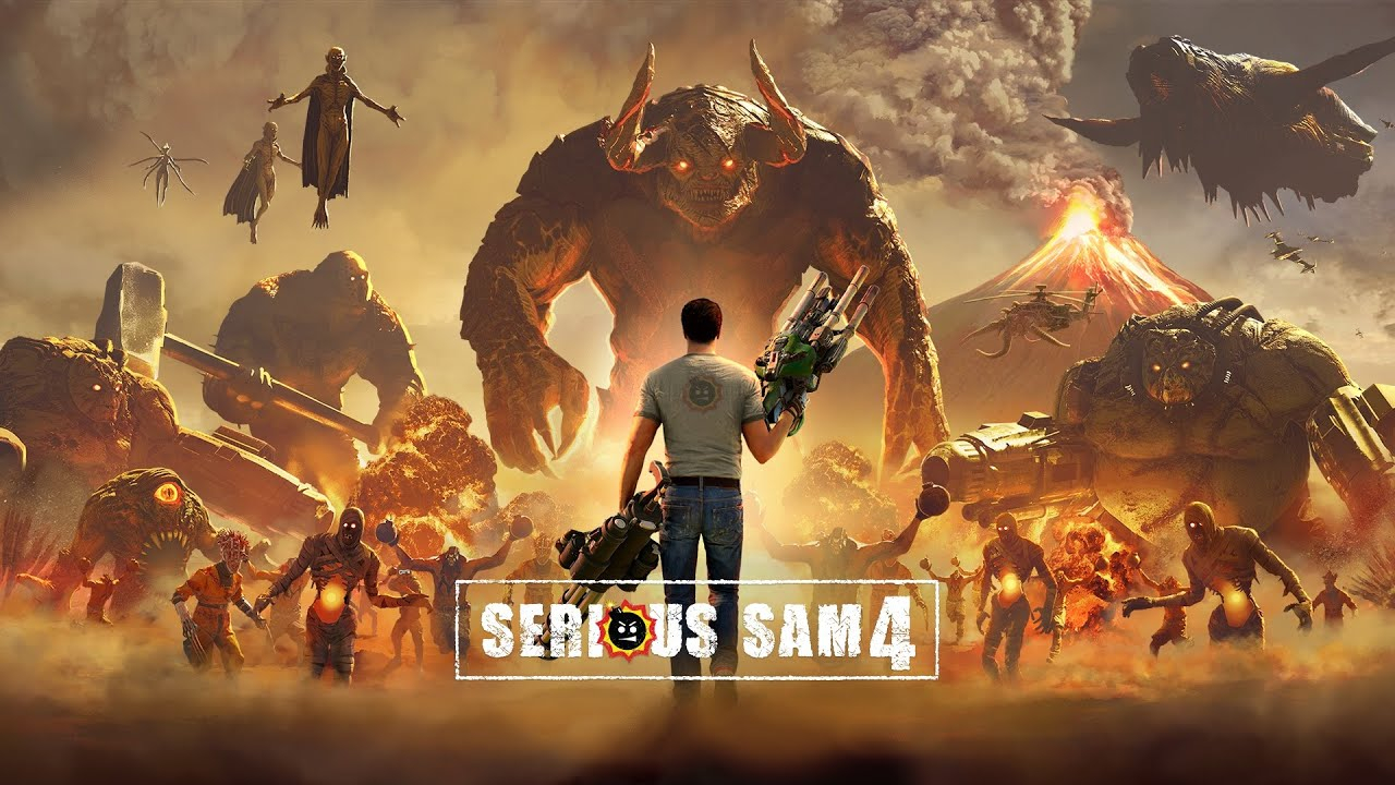 Serious Sam 4 harpy boobs Google Stadia