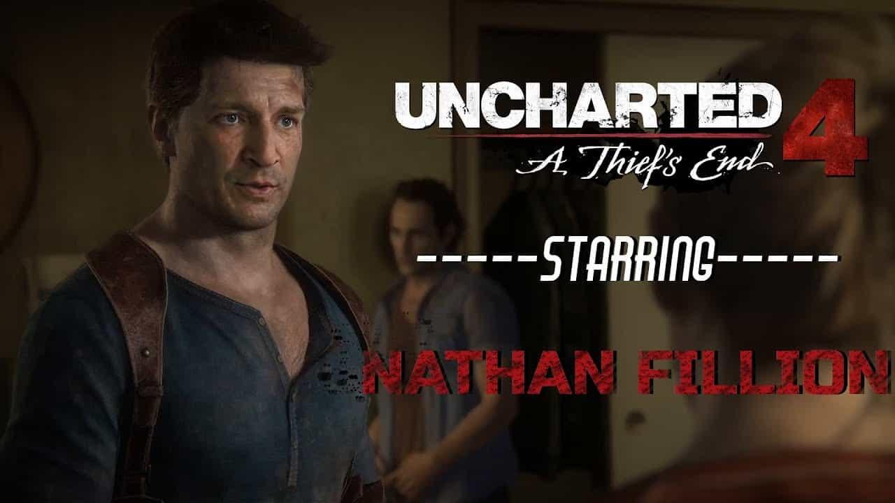 Uncharted 4 Deepfake Nathan Fillion