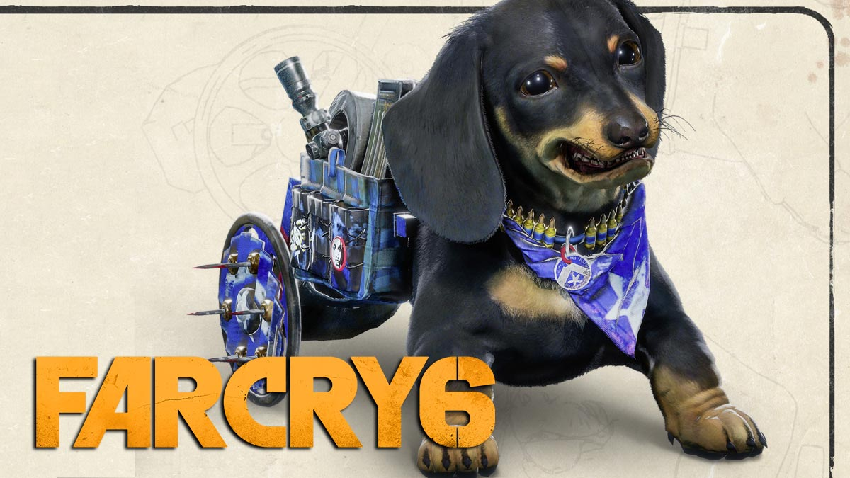 Far Cry 6 Includes Killer Sausage Dog Companion Named Chorizo