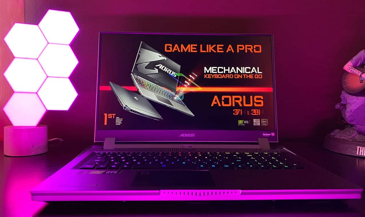 Gigabyte Aorus 17G review