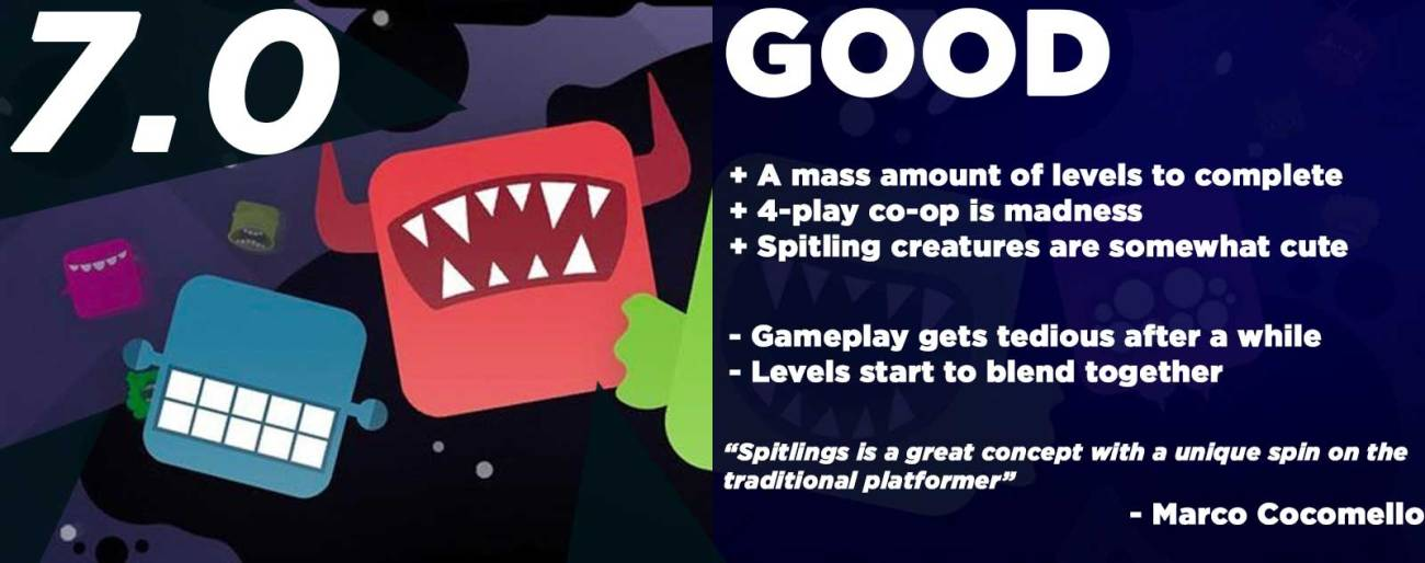 Spitlings Review