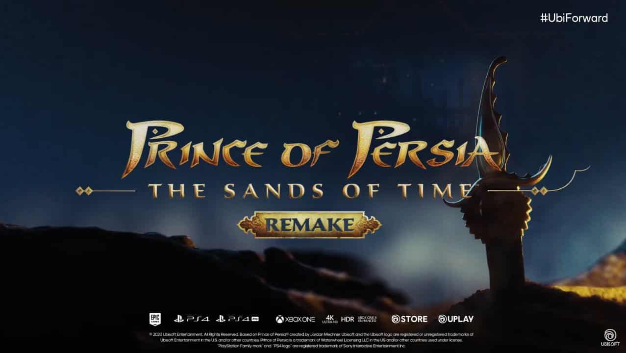Ubisoft Forward Prince of Persia The Sands of Time