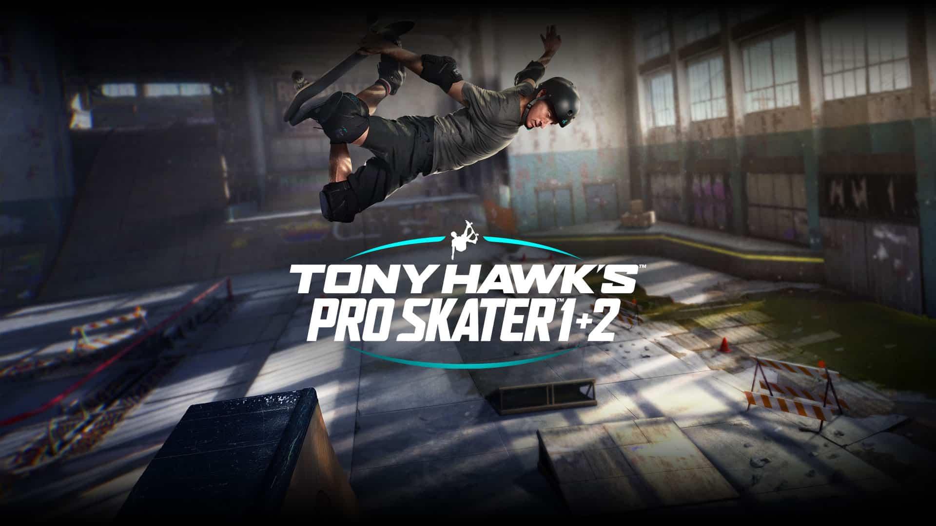 Tony Hawks Pro Skater 1 + 2 SKATE
