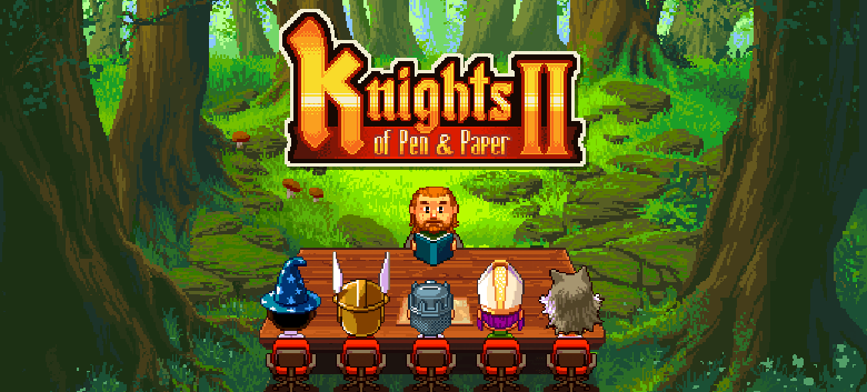 Knights of Pen and Paper 2 Review (iOS)