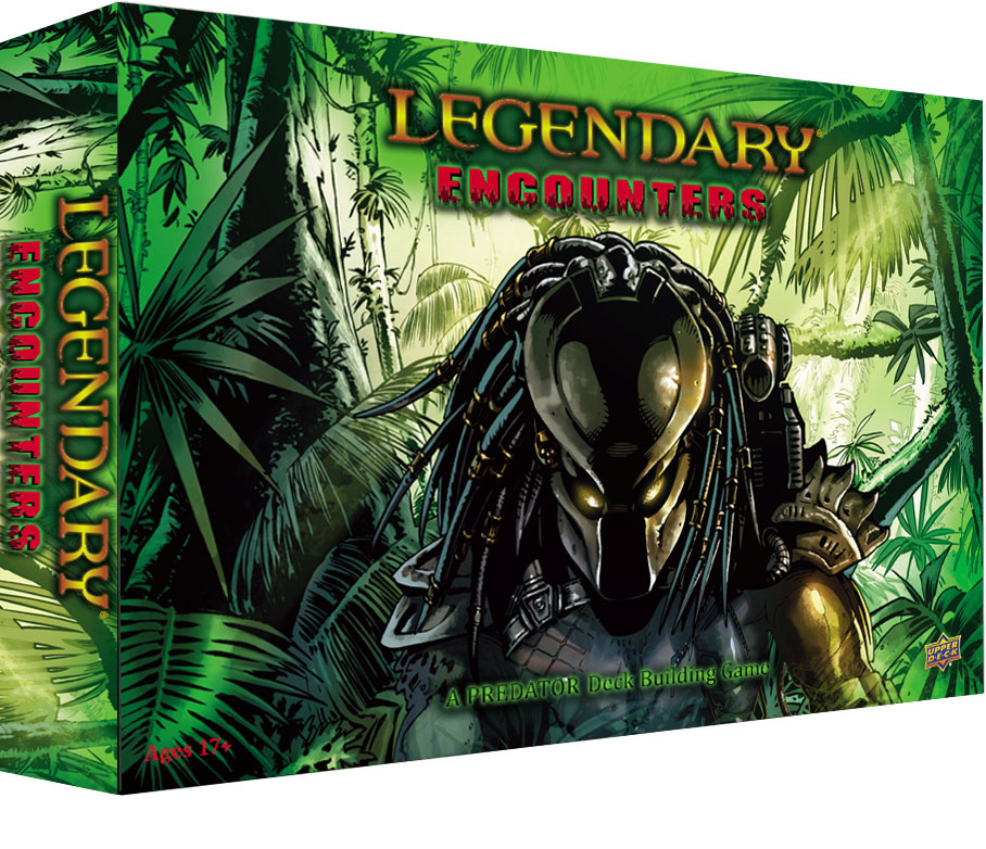 Legendary Encounters: A Predator Deck Building Game Review