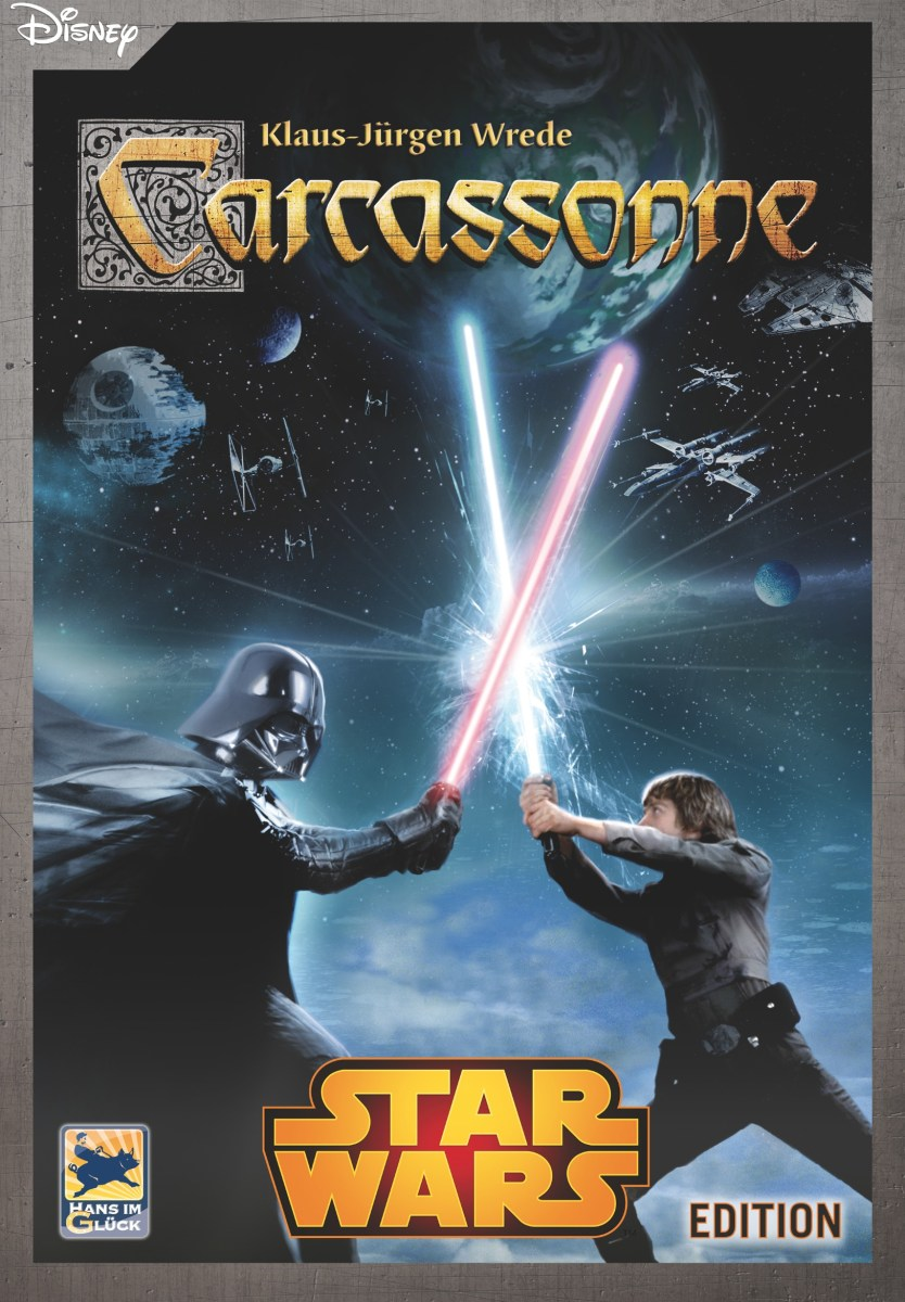 Carcassonne Star Wars Edition Review