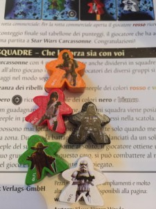 Star Wars Carcassonne meeples