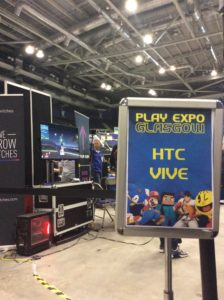 PLAY Expo Glasgow VR