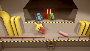 gang beasts chutes_ladder