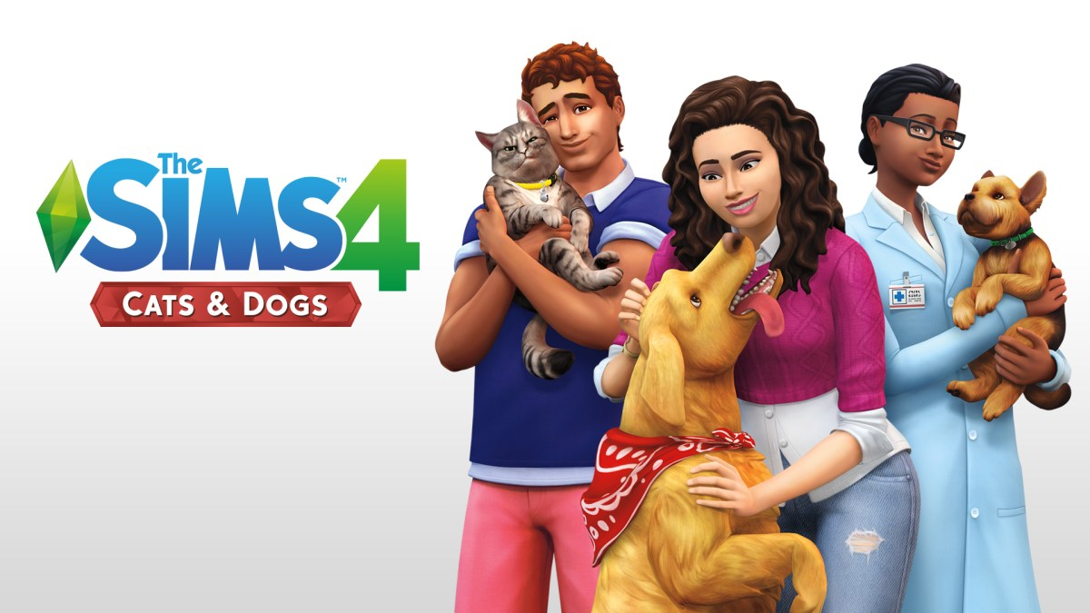 The Sims 4: Cats & Dogs Expansion (PC)