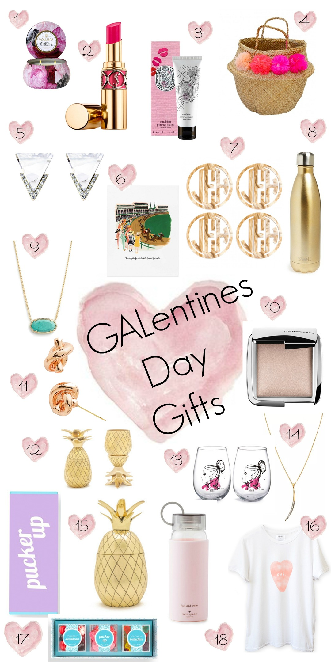 Valentine 39 s day gifts for your girlfriends glitter gingham for Valentines day gifts for your girlfriend