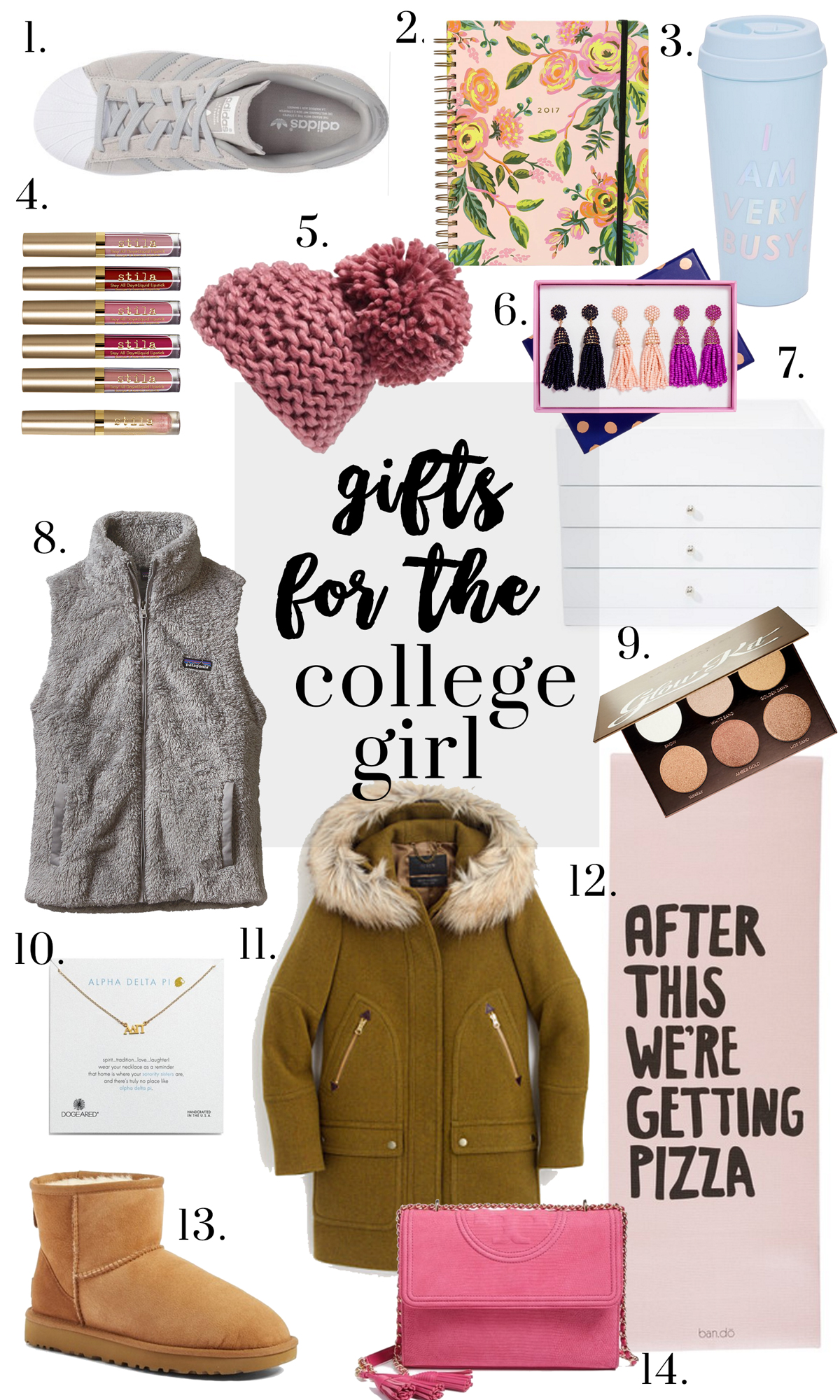 Gifts For College Girls Glitter Amp Gingham