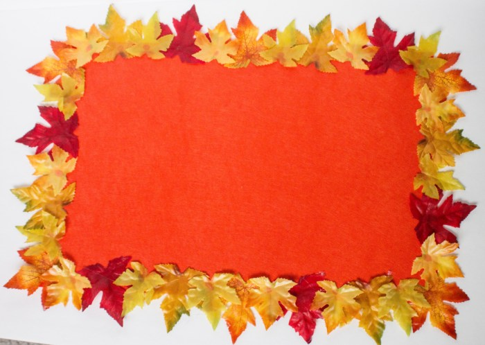 Fall Table Place Mats