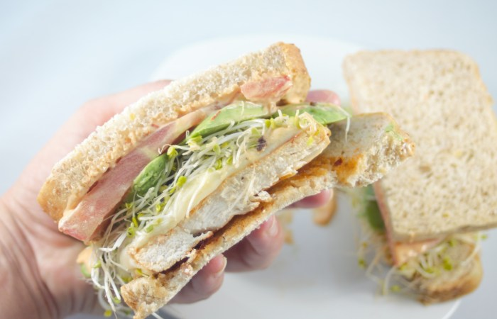 chipotle chicken sandwich