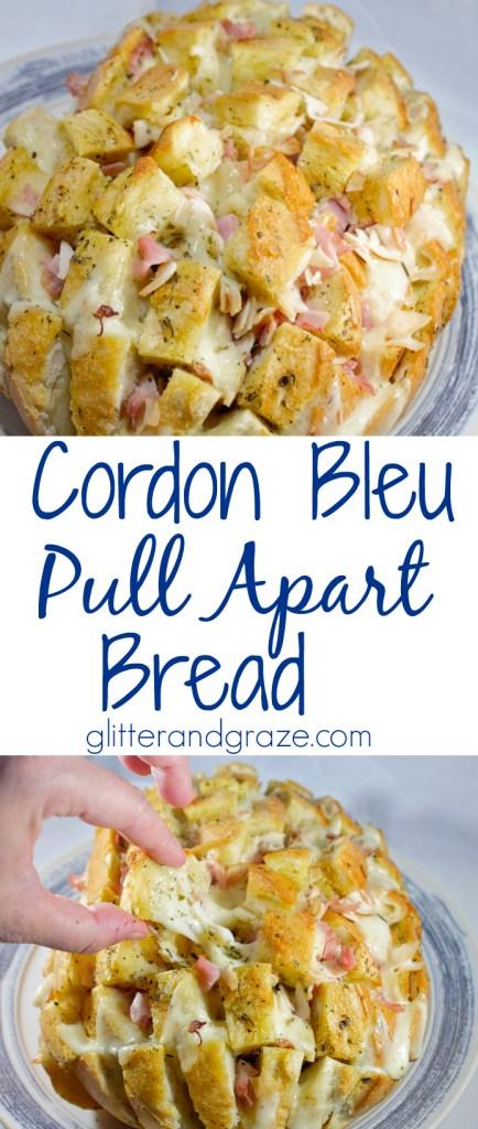 cordon bleu pull apart bread