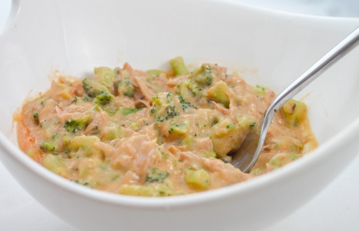 Healthy Broccoli & Cheese Tuna Meal