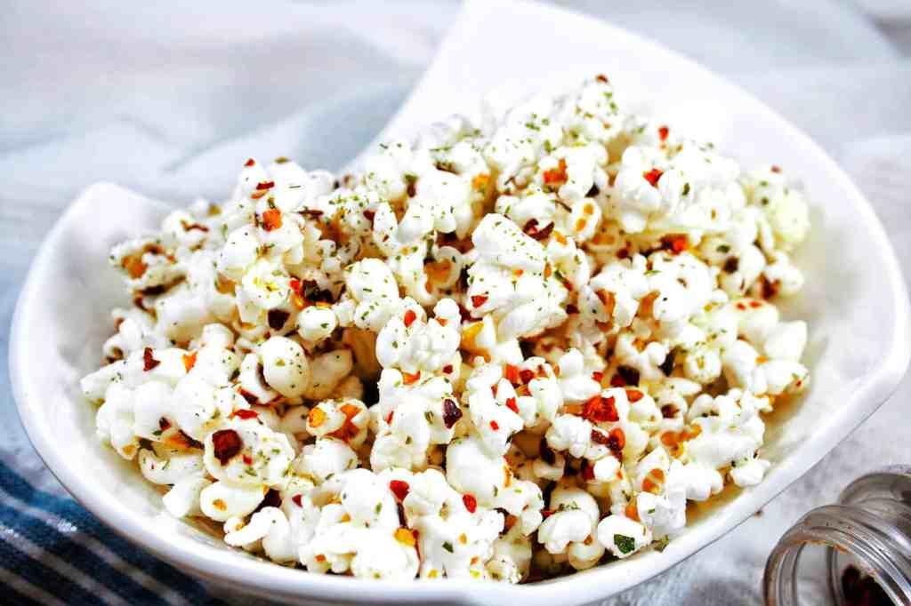 spicy ranch popcorn
