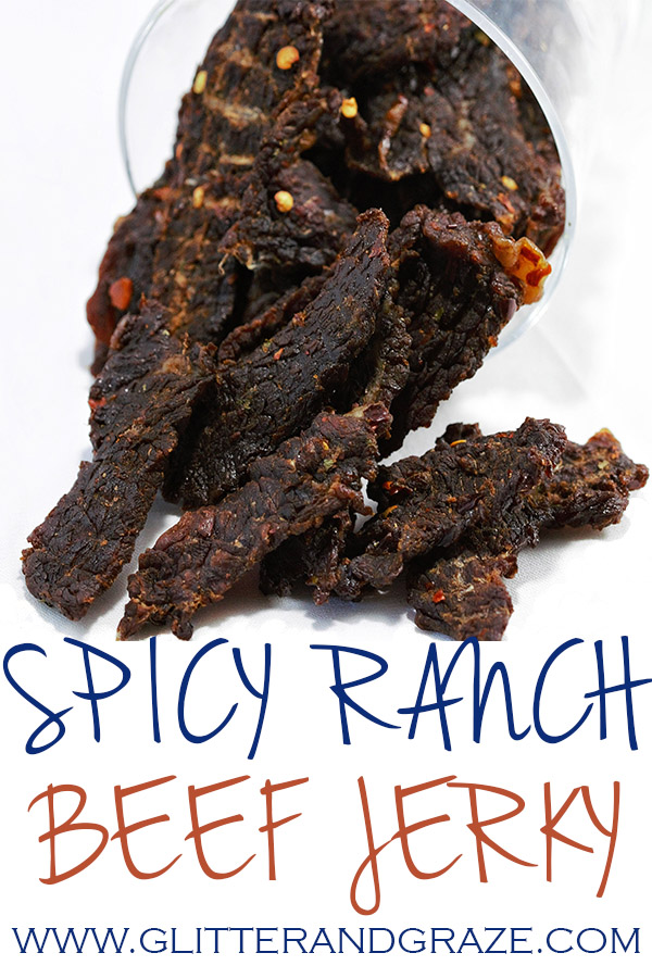 spicy ranch beef jerky