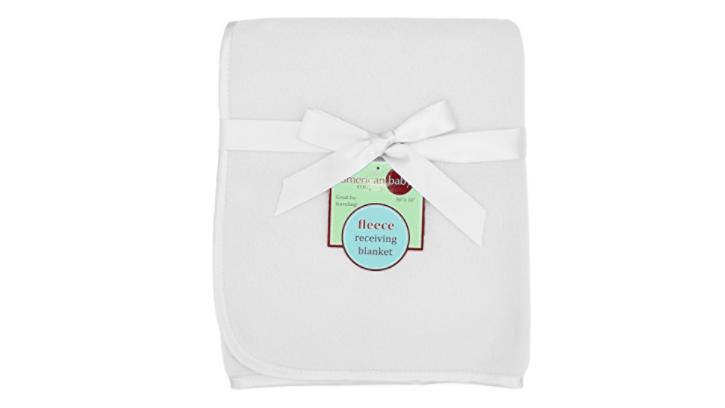 cricut with freezer paper baby blanket