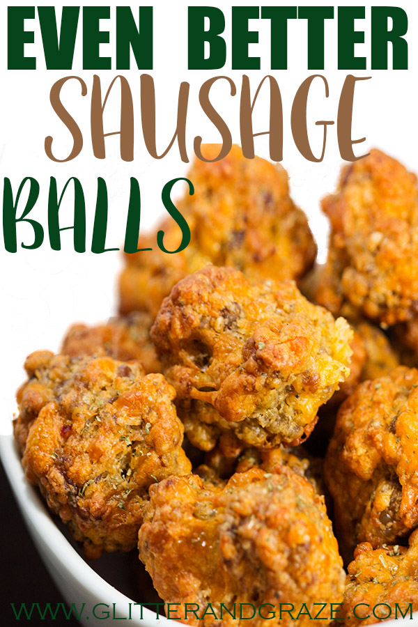 Even better sausage balls