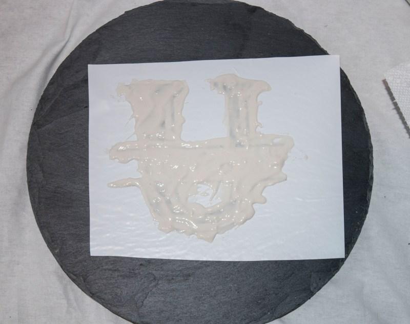 Etched Slate Cheeseboard