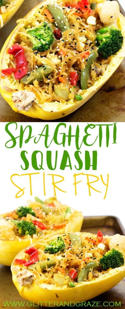 Spaghetti Squash Stir Fry