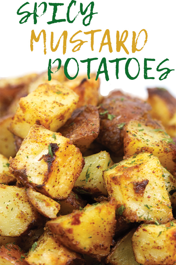 spicy mustard potatoes