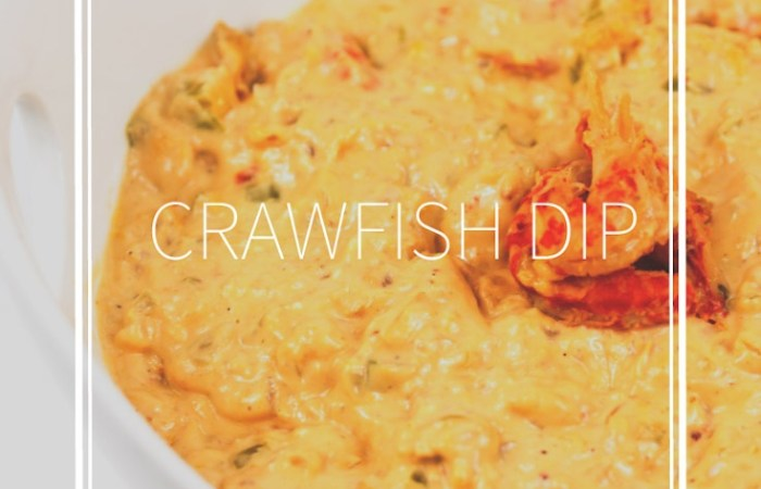 crawfish dip