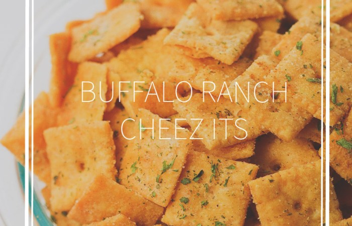 Buffalo Ranch Cheez its