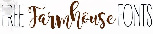 free farmhouse fonts title picture