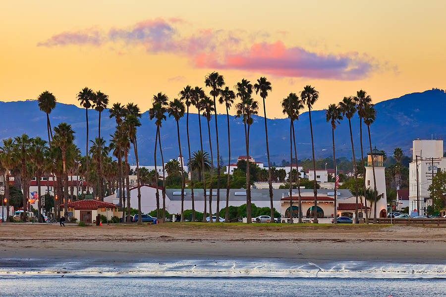 santa barbara california beach