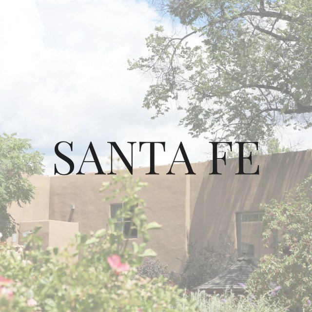 Santa Fe Summer Travel Blogger Recommendations