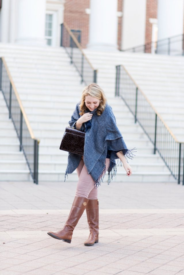 Ann Taylor Cape with Bow