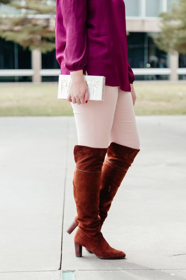 Comfy over the knee boots