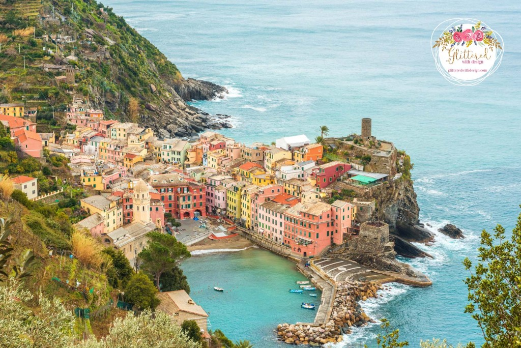 cinque terre - vernazza Glittered with Design Blog - #glitteredwithdesign