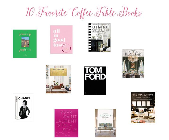 Glittered with Design's 10 Favorite Coffee Table Books