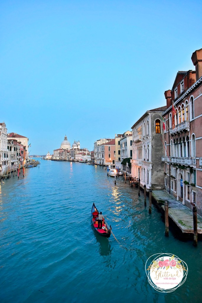 venice grand canal - Glittered with Design Blog - #glitteredwithdesign