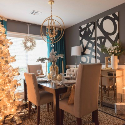 Christmas 2016: Breakfast Room Decor