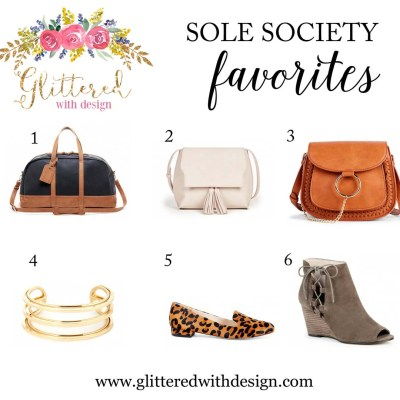My Favorites From Sole Society