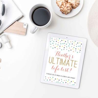 The Ultimate Life List