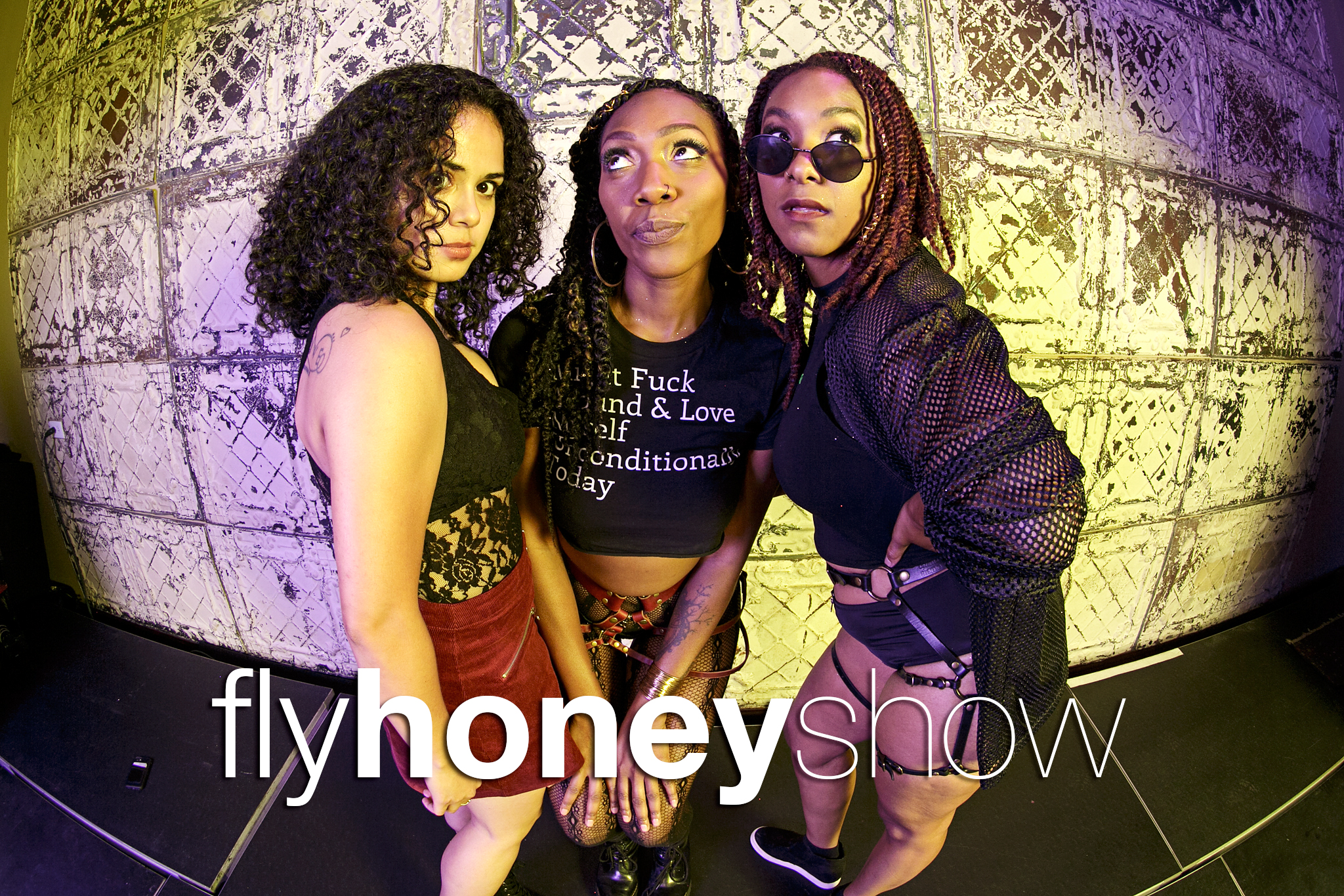glitterguts portrait booth photos from the fly honey show, august 17 2019