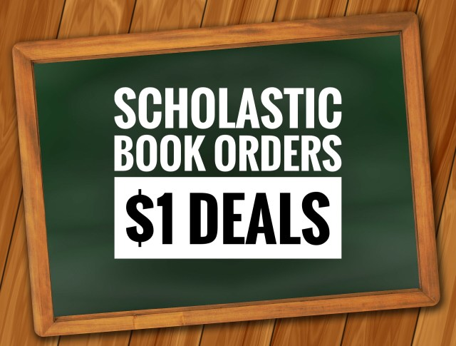 Scholastic Book Orders - $1 Deals