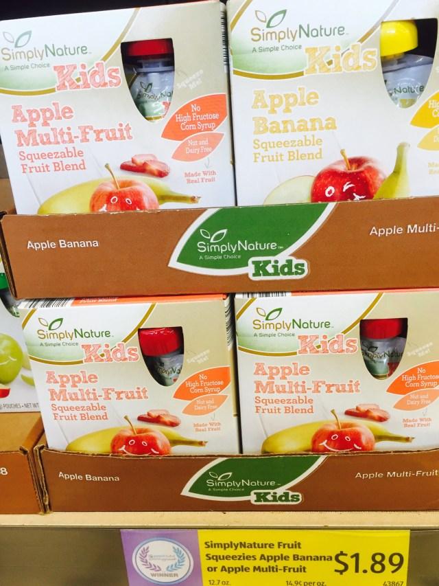 Applesauce Pouches