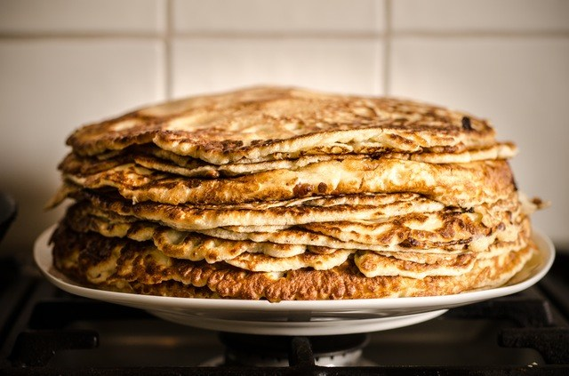 These spelt flour pancakes are delicious and great for freezing!