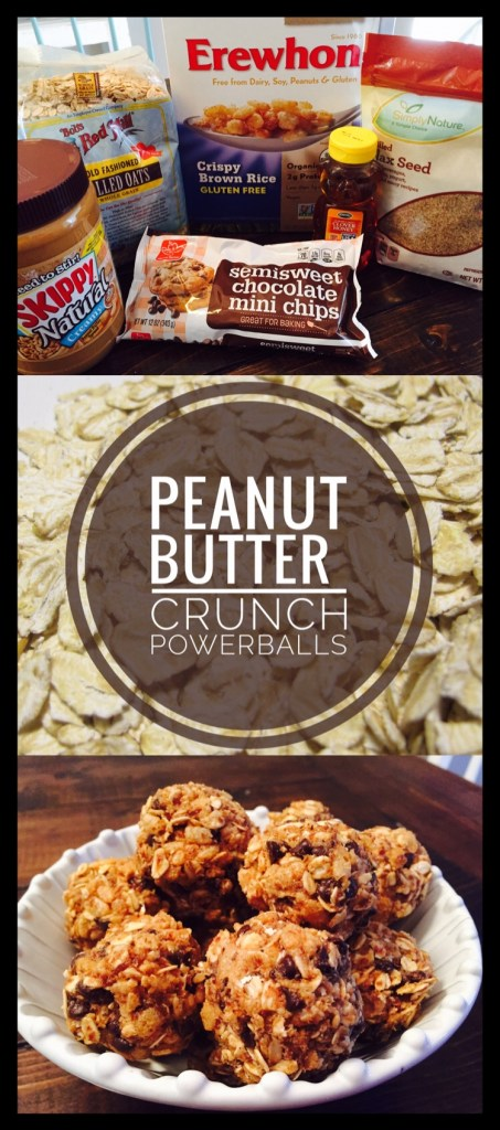 Peanut Butter Crunch Powerballs are a healthy treat