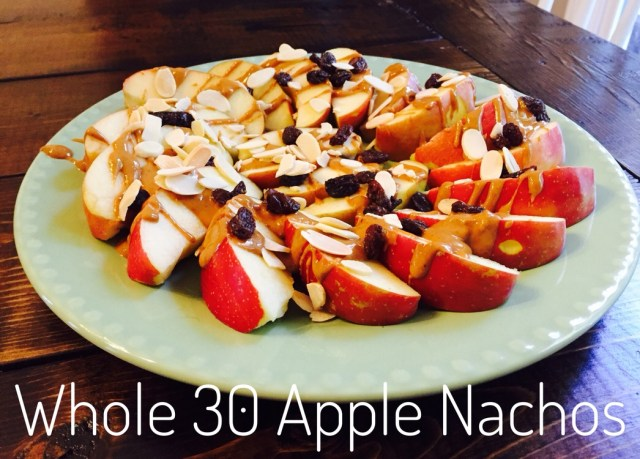 Whole 30 Apple Nachos